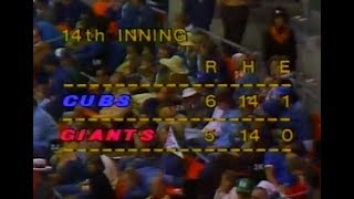 WGN Channel 9 - Cubs Vs. Giants (Last 45 Minutes) & 10th Inning With Jack Brickhouse (5/2/1976)