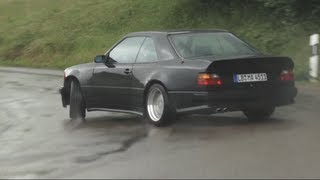 AMG Hammer Sideways In The Rain !! (And a Factory Tour) - /CHRIS HARRIS ON CARS