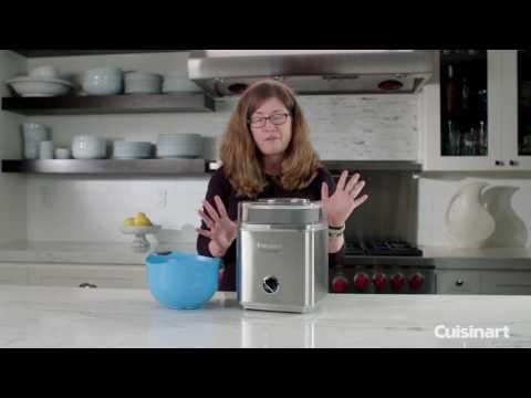 , Cuisinart ICE-30BC Pure Indulgence 2-Quart Automatic Frozen Yogurt, Sorbet, and Ice Cream Maker