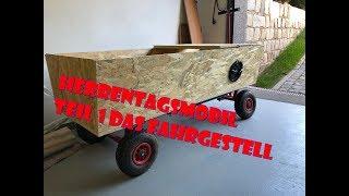 Herrentagsmobil Das fahrgestell Bollerwagen