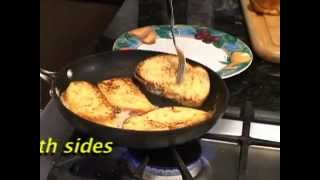 Real French Toast by real French Chef Jean-Jacques Bernat