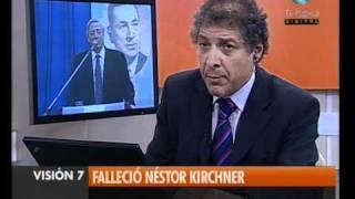 Visión Siete Falleció Néstor Kirchner 1