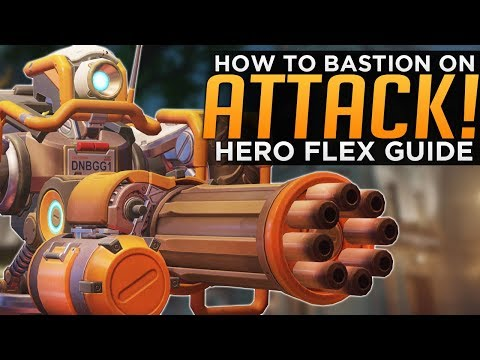 Overwatch: Bastion on ATTACK! - Solo Queue Flex Guide