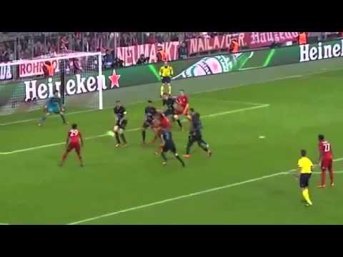 Bayern Munich vs Arsenal 5-1 All Goals & Highlights 2015