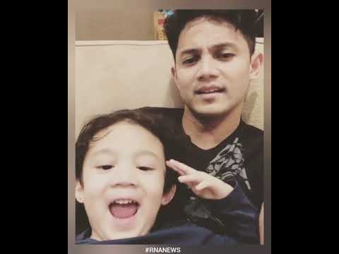 #RNASELEBKIDS Sunday is family day By Hairul Azreen and Yusuf Iskandar