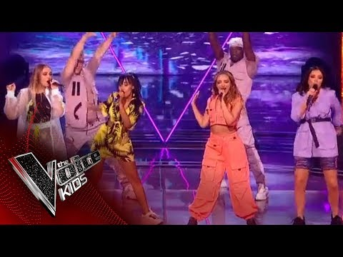 Little Mix perform 'Bounce Back' | The Final | The Voice Kids UK 2019