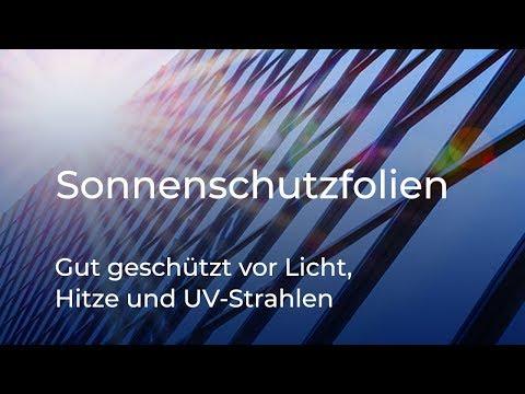 Sonnenschutzfolien für Fenster von Folien-Berlin