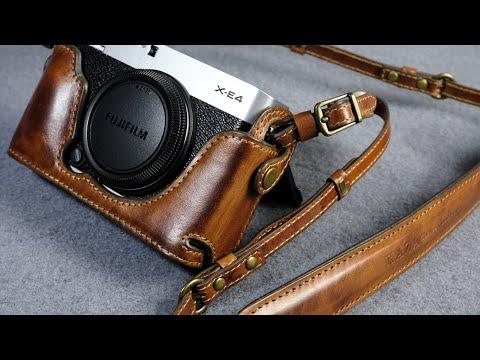 Fujifilm X E4 Leather Camera Case