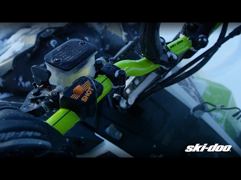 2020 Ski-Doo Summit X 154 850 E-TEC SHOT PowderMax Light 3.0 w/ FlexEdge SL in Butte, Montana - Video 2