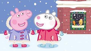Kerst Met Vrienden 🎁 Tekenfilm   Peppa Pig Nederlands Compilatie Nieuwe