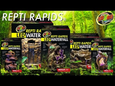 Zoo Med Repti Rapids Led Reptile Small Wood Style