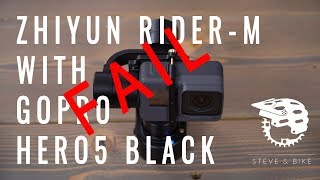 Mountain Bike Gear Review: Can you use the GoPro HERO5 Black with the Zhiyun Rider-M Gimbal?