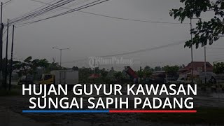 Hujan dan Angin Kencang Landa Padang, BPBD Ingatkan Warga Jangan Berteduh di Bawah Pohon