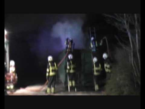 Papiercontainer in Brand in Sint Anthonis