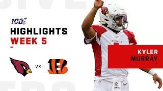Kyler Murray Picks Up 1st NFL Victory   2019 Highlights