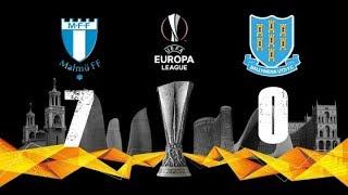 Malmo FF Vs Ballymena United 7-0 Highlights UEFA Europa League Qualification