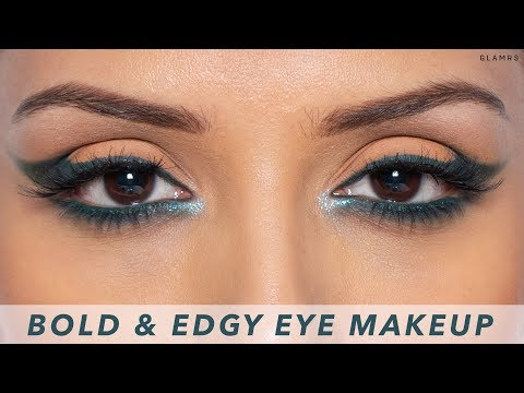 Edgy, Dramatic Cat Eye Makeup Look For The Holiday Season | Glitter Guide With Pallavi Symons