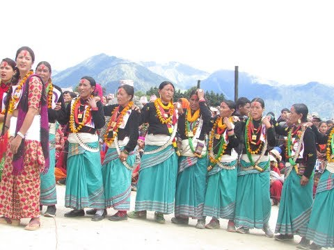 हुम्लामा भएकाे पानसरा र मनलाल विचको नयाँ देउडा new deuda (Pansara Thapa and Manlai Jaisi )in Humla