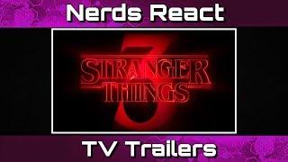 Stranger Things Season 3 Trailer   Nerds React   TV Trailers