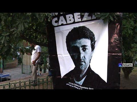 Con diversos actos, recordaron a José Luis Cabezas a 19 años de su asesinato