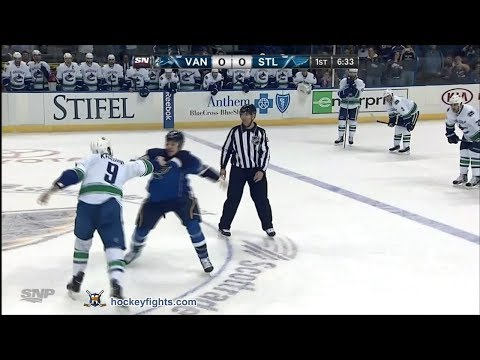Chris Stewart vs. Zack Kassian
