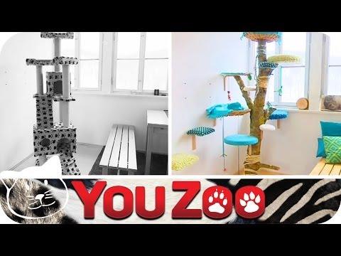 How To Kratzbaum selbst machen I Kratzbaum DIY I Katzenspielzeug I Bines Budenzauber