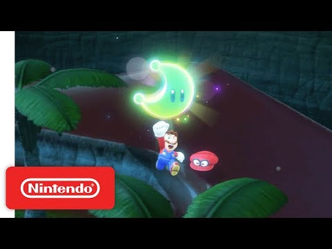 Super Mario Odyssey - Co-Op Demonstration - Nintendo E3 2017 thumbnail