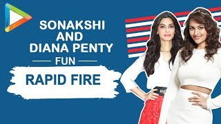 "Sonakshi Sinha: ""Ranveer Singh is already a LEGEND"" | RAPID FIRE | Dabangg | Salman | Diana"