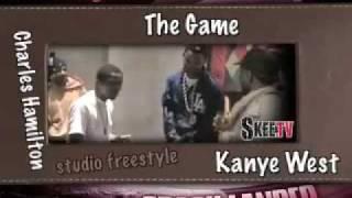 Charles Hamilton, The Game  Kanye West Cipher Battle !!