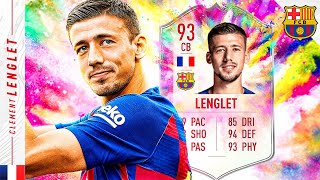SHOULD YOU DO THE SBC?! 93 SUMMER HEAT LENGLET REVIEW! FIFA 20 Ultimate Team