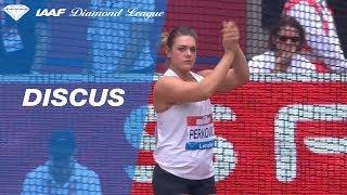 Sandra Perkovic 67.24m - winning discus throw London 2018