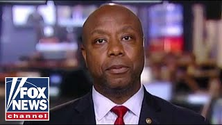 Sen. Tim Scott calls reparations debate a 'political show'