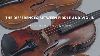 The Differences Between Fiddle and Violin