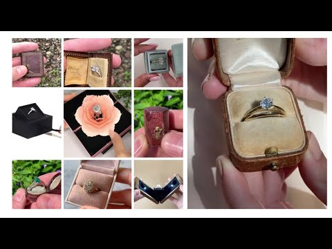 Engagement Ring Box Ideas||Make your moments more special
