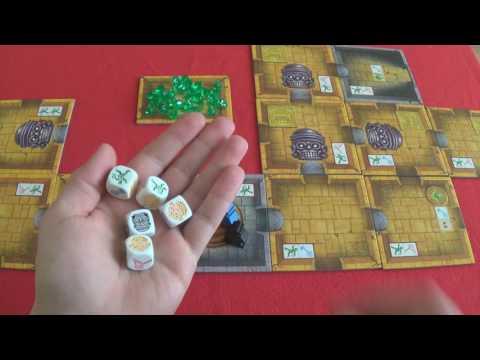 Escape: The Curse of the Temple - társasjáték bemutató - Jatszma.ro