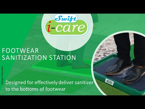 Footwear Sanitizing Unit Home IC18