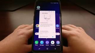 Galaxy S9 & S9+ | Using Apps in a Floating Window
