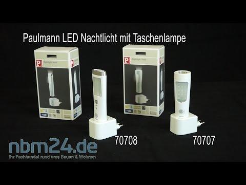 Paulmann 70707 70708 Nachtlicht Taschenlampe