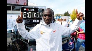 Eliud Kipchoge ajiandaa kukimbia mbio ya marathon kwa muda wa chini ya masaa mawili