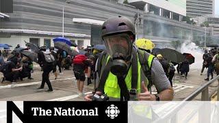 Reporting during the Hong Kong protests