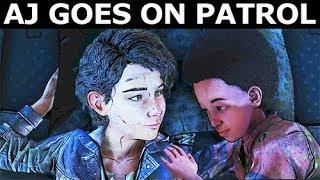 AJ Goes On Patrol Or AJ Stays With Clementine - The Walking Dead Final Season 4 Episode 2