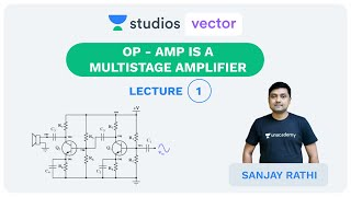 L1: Op - Amp is a Multistage Amplifier   Analog for UPSC ESE 2020   Sanjay Rathi
