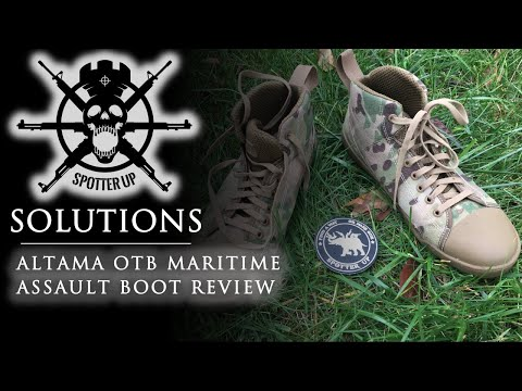 Altama OTB Maritime Assault Boot First Impressions