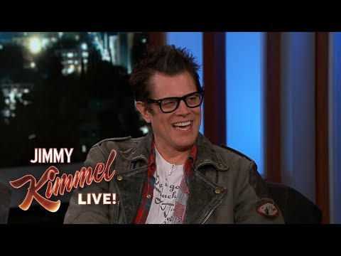 Johnny Knoxville on Son's Terrible Parent-Teacher Conference