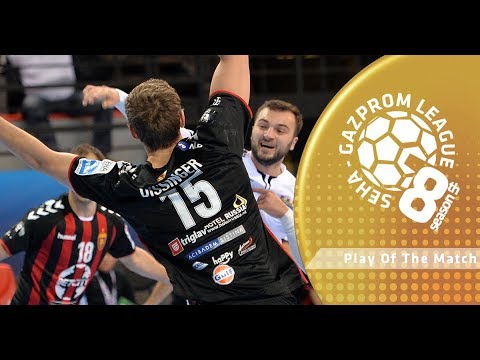 Play of the match: Christian Dissinger (Zeleznicar 1949 vs Vardar)