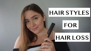 HAIR STYLES FOR HAIR LOSS   HAIR STYLES TO HIDE HAIRLOSS   Telogen Effluvium Recovery   LAUREN NEWLY