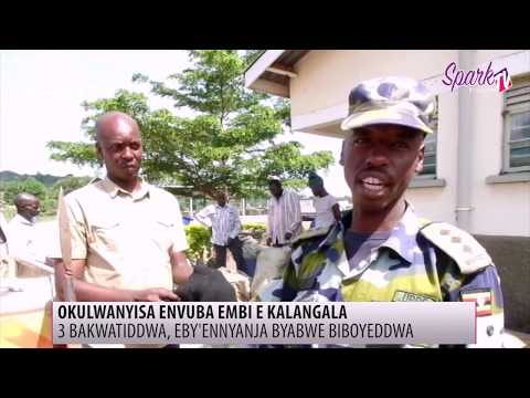 Abavubi basatu ab'enyigira mu nvuba embi bakwatiddwa e Kalangala