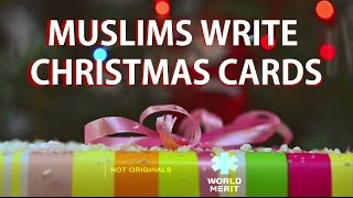 Muslims write Christmas cards for stranger Christians // Presented by  WorldMerit and NotOriginals