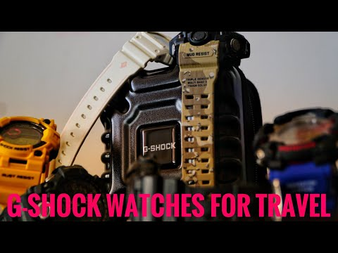 G-Shock watch MINI travel case review!