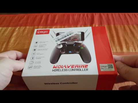 Banggood Ipega PG-9099 Wireless bluetooth Game Controller - Unboxing
